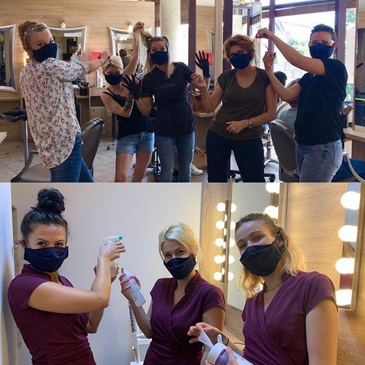 Equipes Symbiose Côté Zen masquées
